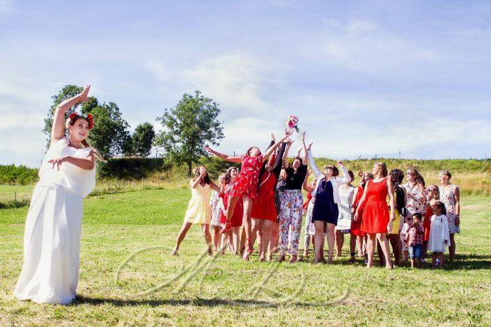 Mariage, vin d'honneur, Laussonne, Haute-Loire, Auvergne, France