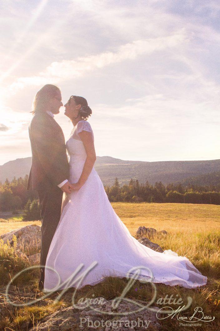Mariage, séance couple, Grazac, Haute-Loire, Auvergne, France