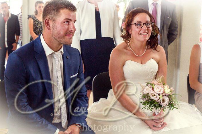 Mariage, mariés, mairie, Sainte-Sigolène, Haute-Loire, France