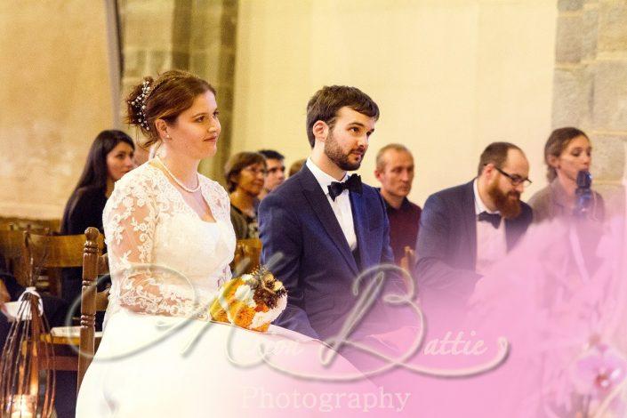Mariage, mariés, eglise, Saint-Etienne, Loire, Rhône-Alpes,France