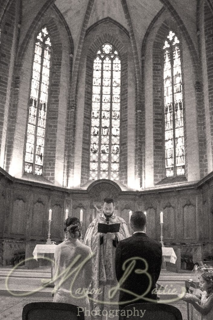 Mariage, église, Le Puy-en-Velay Haute-Loire, Auvergne, France