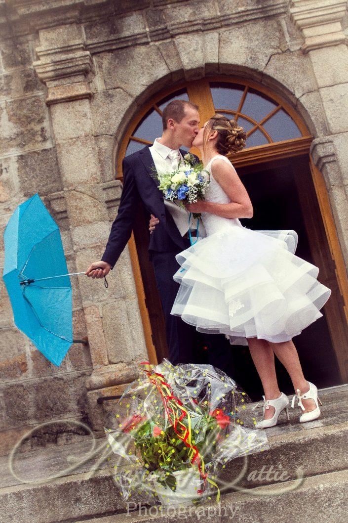 Mariage, eglise, Grazac, Haute-Loire, Auvergne, France