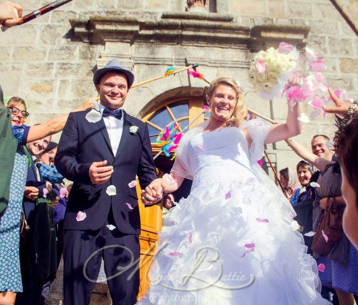 Mariage, église, Grazac, Haute-Loire, Auvergne, France