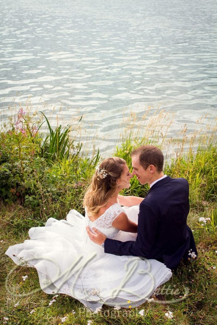 Mariage, couple, lac, Grazac, Haute-Loire, Auvergne