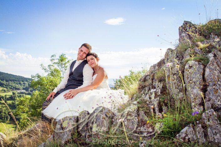 Mariage, couple , nature, Rosières, Haute-Loire, Auvergne