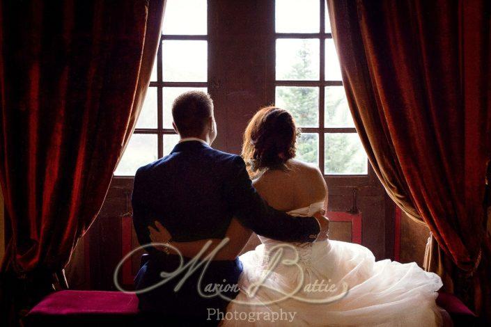Mariage, couple, chateau, Sainte-sigolène, Haute-Loire, Auvergne