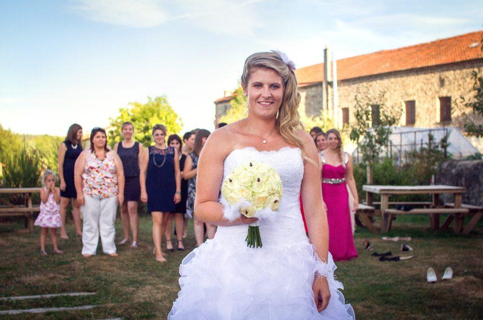 Reportage de Mariage : le vin d'honneur en photo