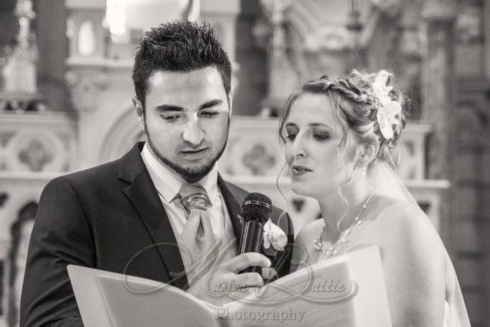 mariage, église, cérémonie, été, Lapte, Haute-Loire, Auvergne